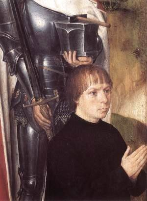 Triptych of Adriaan Reins [detail: 1, left wing]