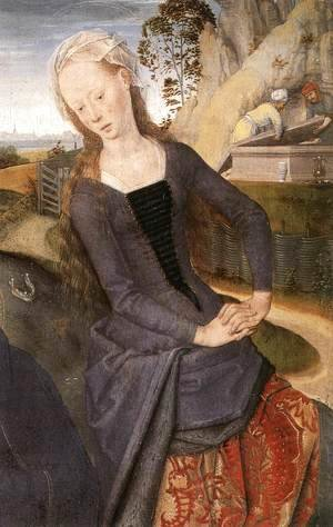 Triptych of Adriaan Reins [detail: 3, central panel]