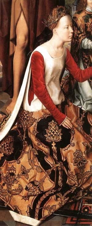 Hans Memling - St John Altarpiece [detail: 7, central panel]