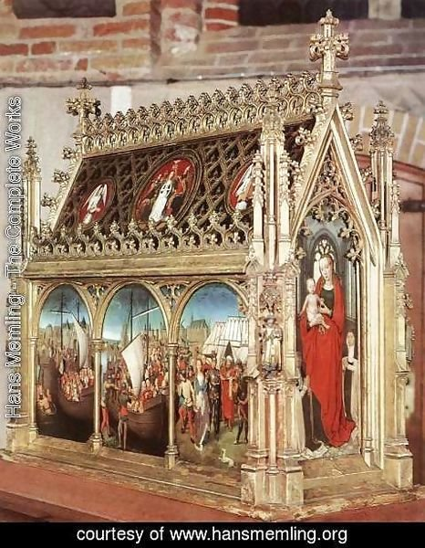 Hans Memling - St Ursula Shrine