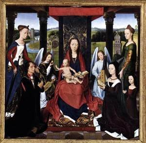 Hans Memling - The Donne Triptych (centre panel)