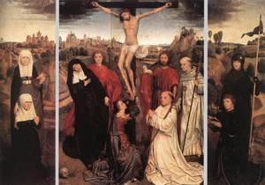 Hans Memling - Triptych of Jan Crabbe