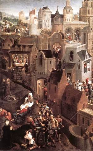 Hans Memling - Scenes from the Passion of Christ (left side)