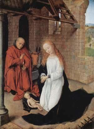 Hans Memling - Nativity