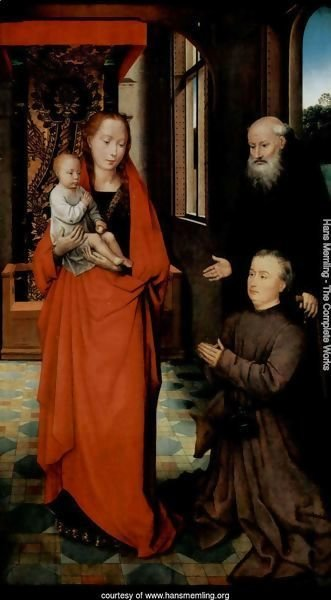 Virgin and Child with St Anthony the Abbot and a Donor 2