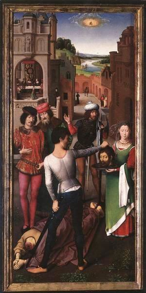 St John Altarpiece (left wing) 2