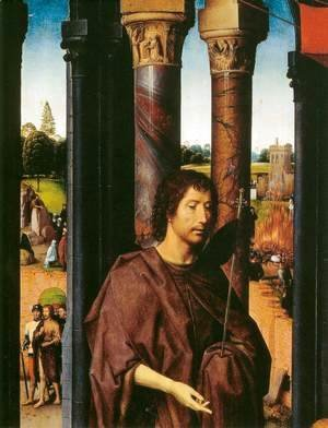 St John Altarpiece (detail) 2