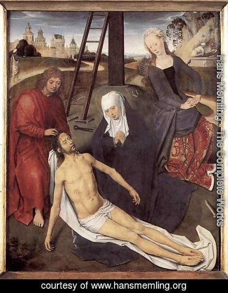Hans Memling - Triptych of Adriaan Reins (central panel)