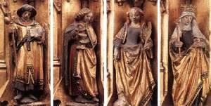 Hans Memling - St Ursula Shrine Figures