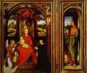 Hans Memling - Altar Of Saints John The Baptist And John The Evangelist