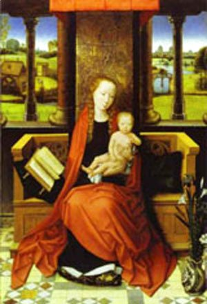 Hans Memling - Madonna And Child 1487