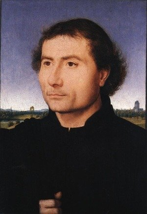 Hans Memling - Portrait of a Man 1470