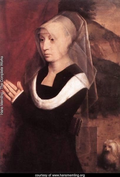 Portrait Of A Praying Woman 1485