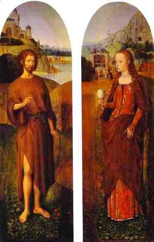 Hans Memling - St John The Baptist And St Mary Magdalen
