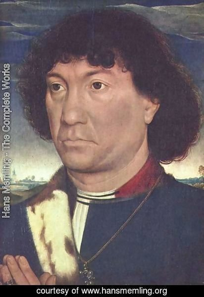 Hans Memling - Portrait of a man from the Lespinette family