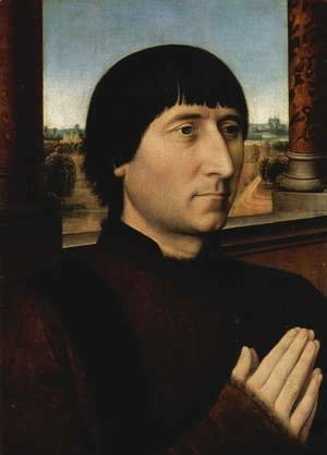 Hans Memling - Portrait of Willem Moreel