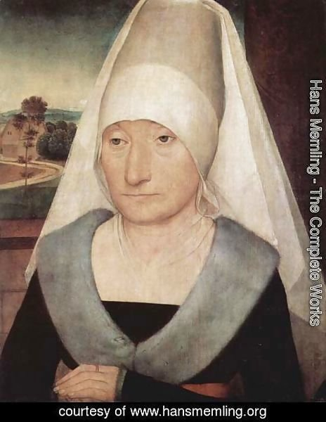 Hans Memling - Portrait of an older woman