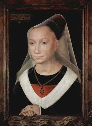 Hans Memling - Portrait of a lady