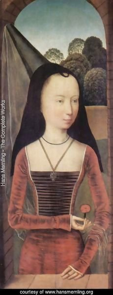 Hans Memling - Portrait of a young woman