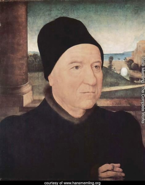 Portrait of an older man