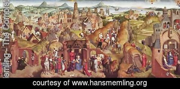 Hans Memling - Scenes from the life of Mary