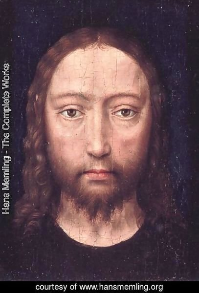 Hans Memling - Head of Christ