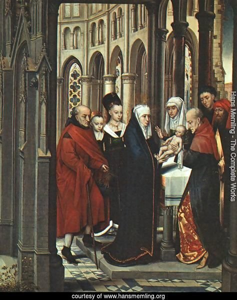 The Presentation in the Temple 1463