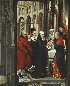 Hans Memling - The Presentation in the Temple 1463