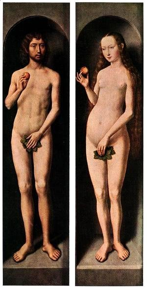 Hans Memling - Adam And Eve