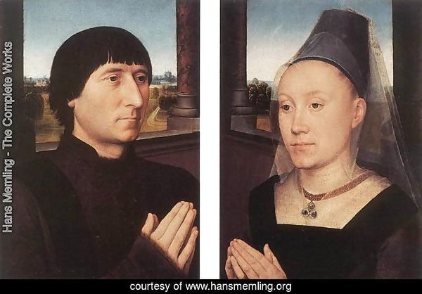 Portraits of Willem Moreel and His Wife c. 1482