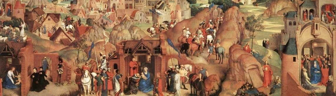 Hans Memling - Advent and Triumph of Christ 1480