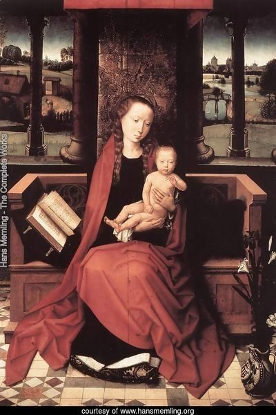 Virgin and Child Enthroned 1480s