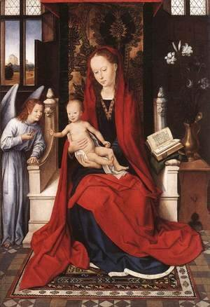 Virgin Enthroned with Child and Angel c. 1480
