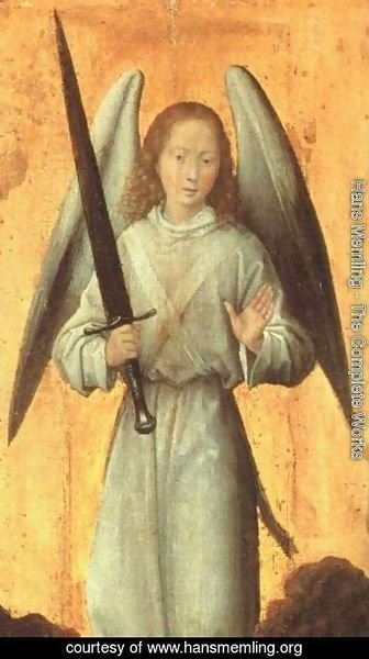 Hans Memling - The Archangel Michael c. 1479