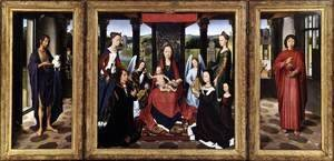 Hans Memling - The Donne Triptych c. 1475