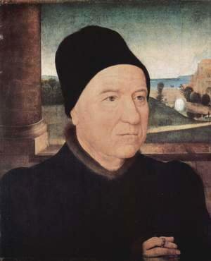 Hans Memling - Portrait of an Old Man 1470-75