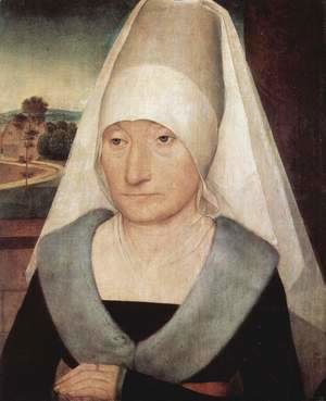 Portrait of an Old Woman 1470-75
