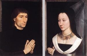 Hans Memling - Tommaso Portinari and his Wife c. 1470