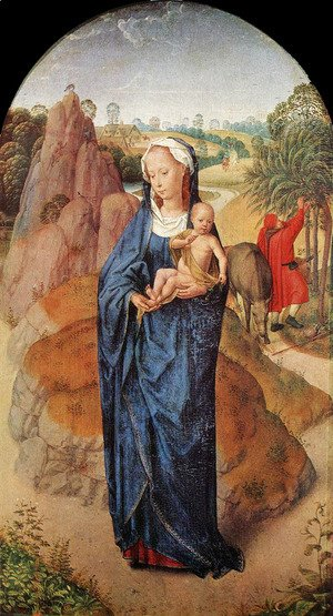 Hans Memling - Virgin and Child in a Landscape
