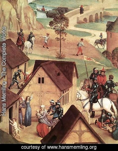 Hans Memling - Advent and Triumph of Christ (detail-1) 1480