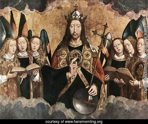 Christ Surrounded by Musician Angels 1480s