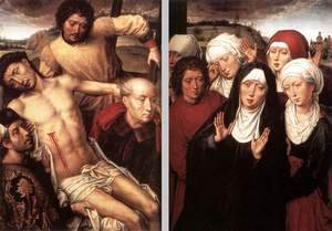 Diptych with the Deposition 1492-94
