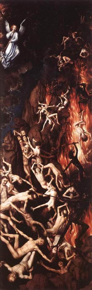 Hans Memling - Last Judgment (right panel) 1467-71
