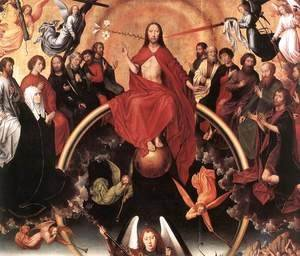 Hans Memling - Last Judgment Triptych (detail-3) 1467-71