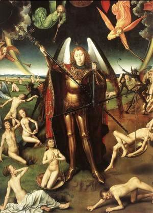 Hans Memling - Last Judgment Triptych (detail-5) 1467-71