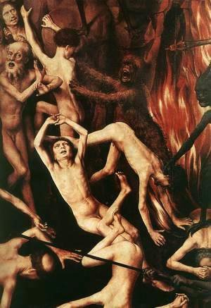 Hans Memling - Last Judgment Triptych (detail-9) 1467-71