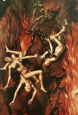 Hans Memling - Last Judgment Triptych (detail-10) 1467-71