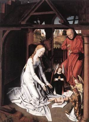 Hans Memling - Nativity 1475-1500