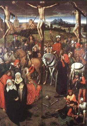 Hans Memling - Passion (Greverade) Altarpiece (central panel) 1491