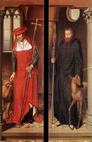 Hans Memling - Passion (Greverade) Altarpiece (closed) 1491
